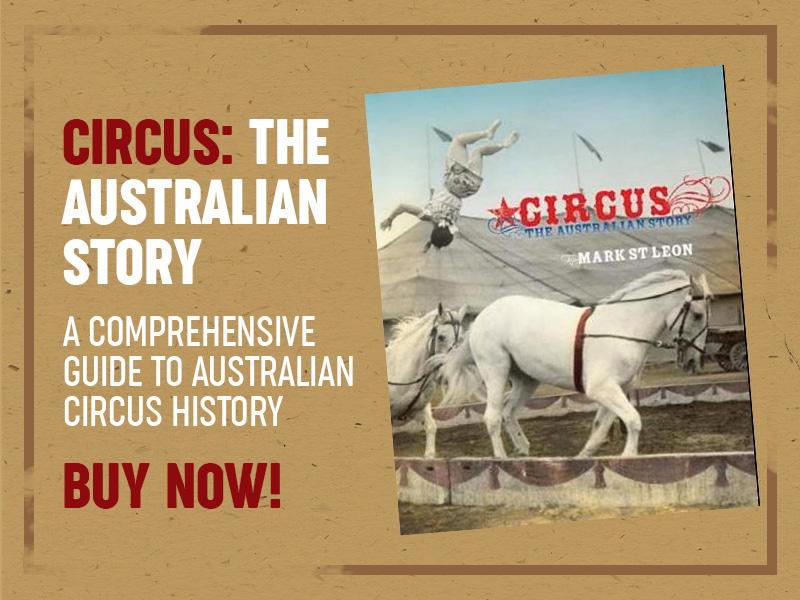 Circus History Book